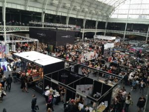 LinkedIn Networking - Picture of a large trade show - Louise Jenner, The Dream Job Coach - Career Coach - Gloucester