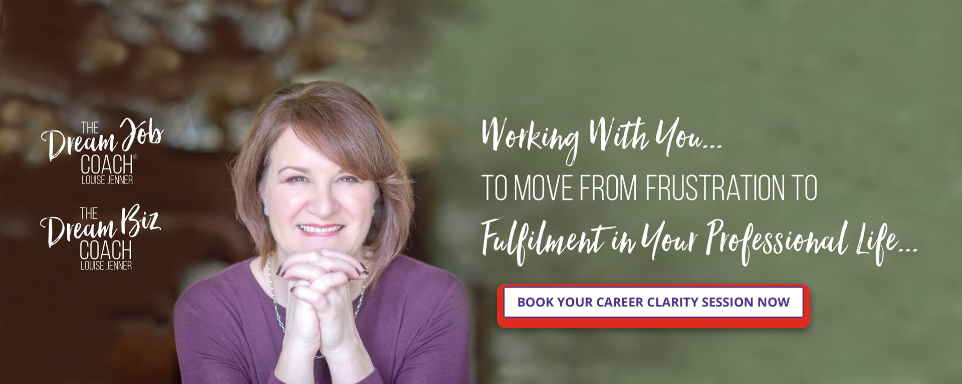 Louise Jenner, The Dream Job Coach, The Dream Biz Coach - Career Coach and Business Coach - Gloucester - Working with you to move from frustration to fulfilment in your professional life.