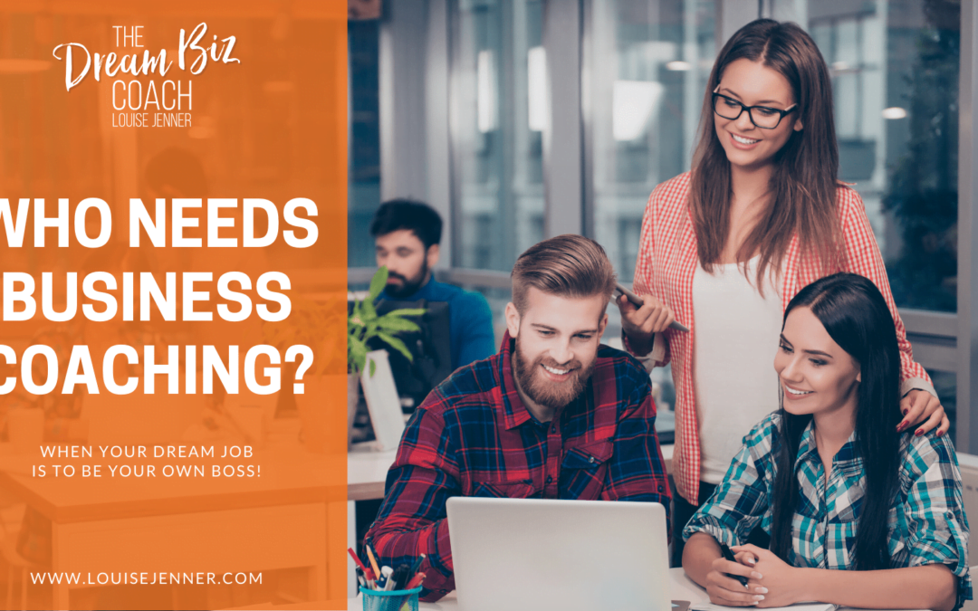 Who Needs Business Coaching?
